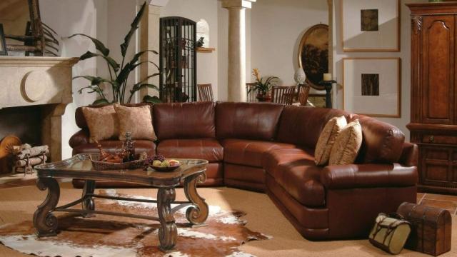 Flex steel vs. Lane vs. Natuzzi Leather Sectionals