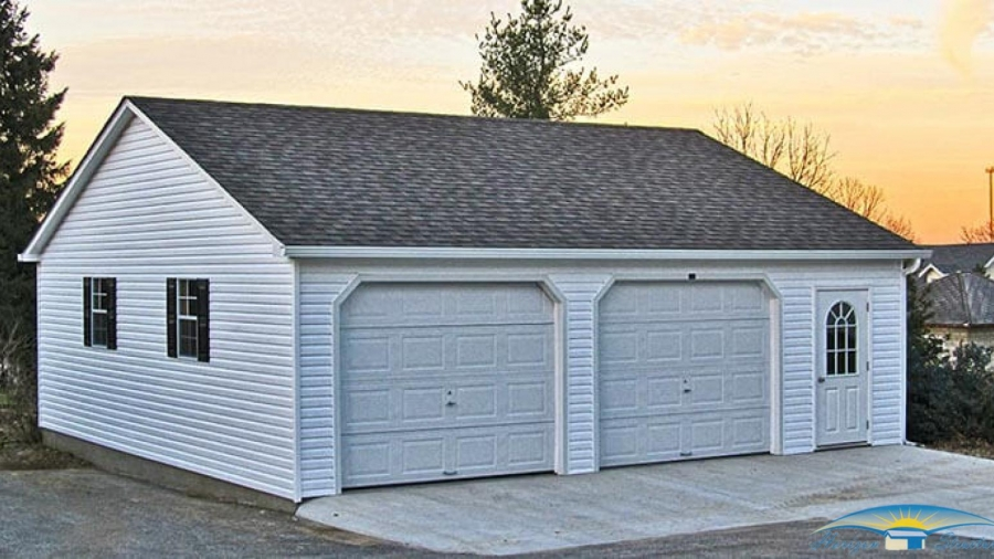 What Is the Perfect Size For A 2 Car Garage