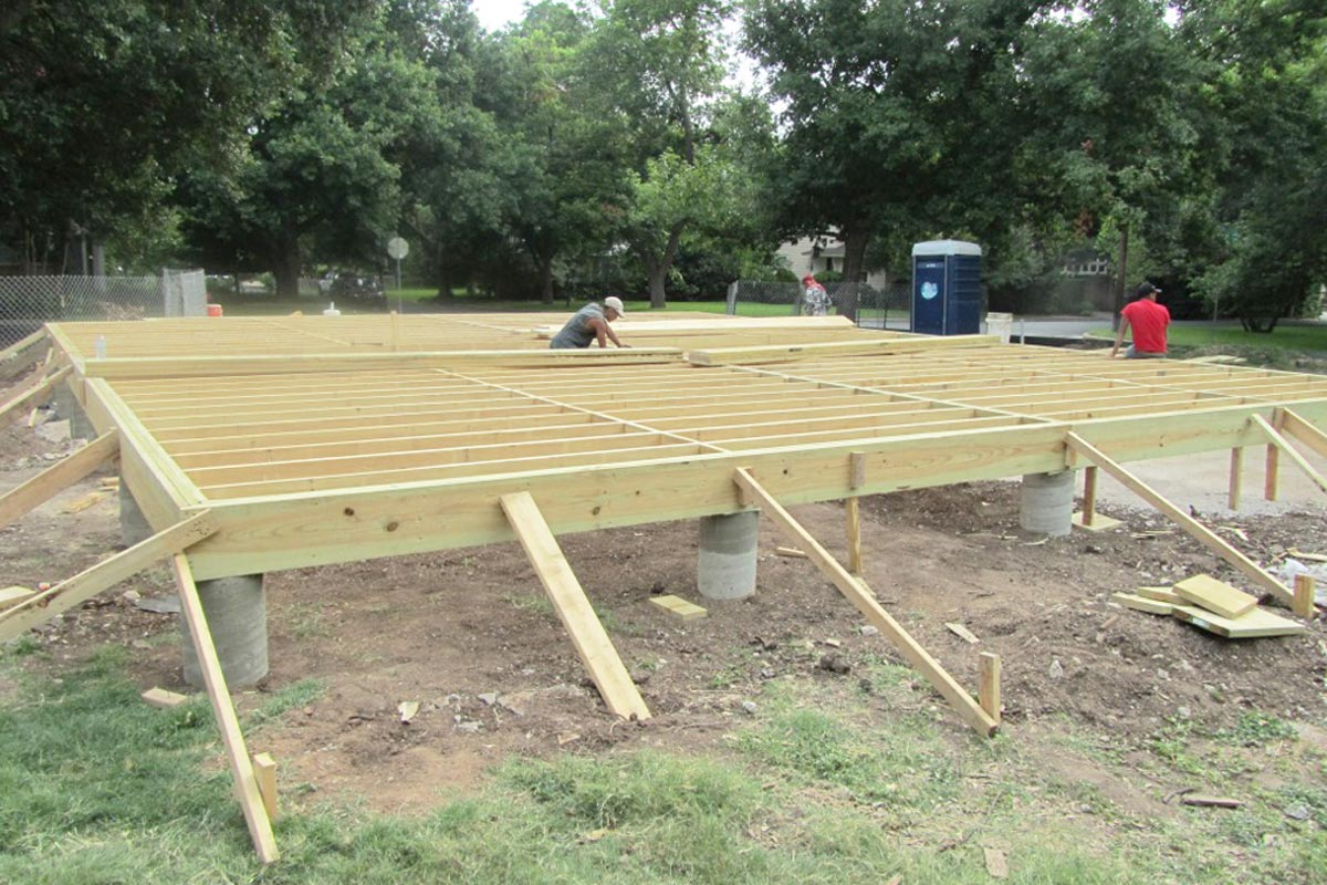 Concrete Home Foundation