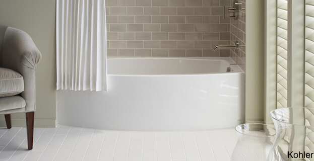 Soaking Tub And Shower Combination