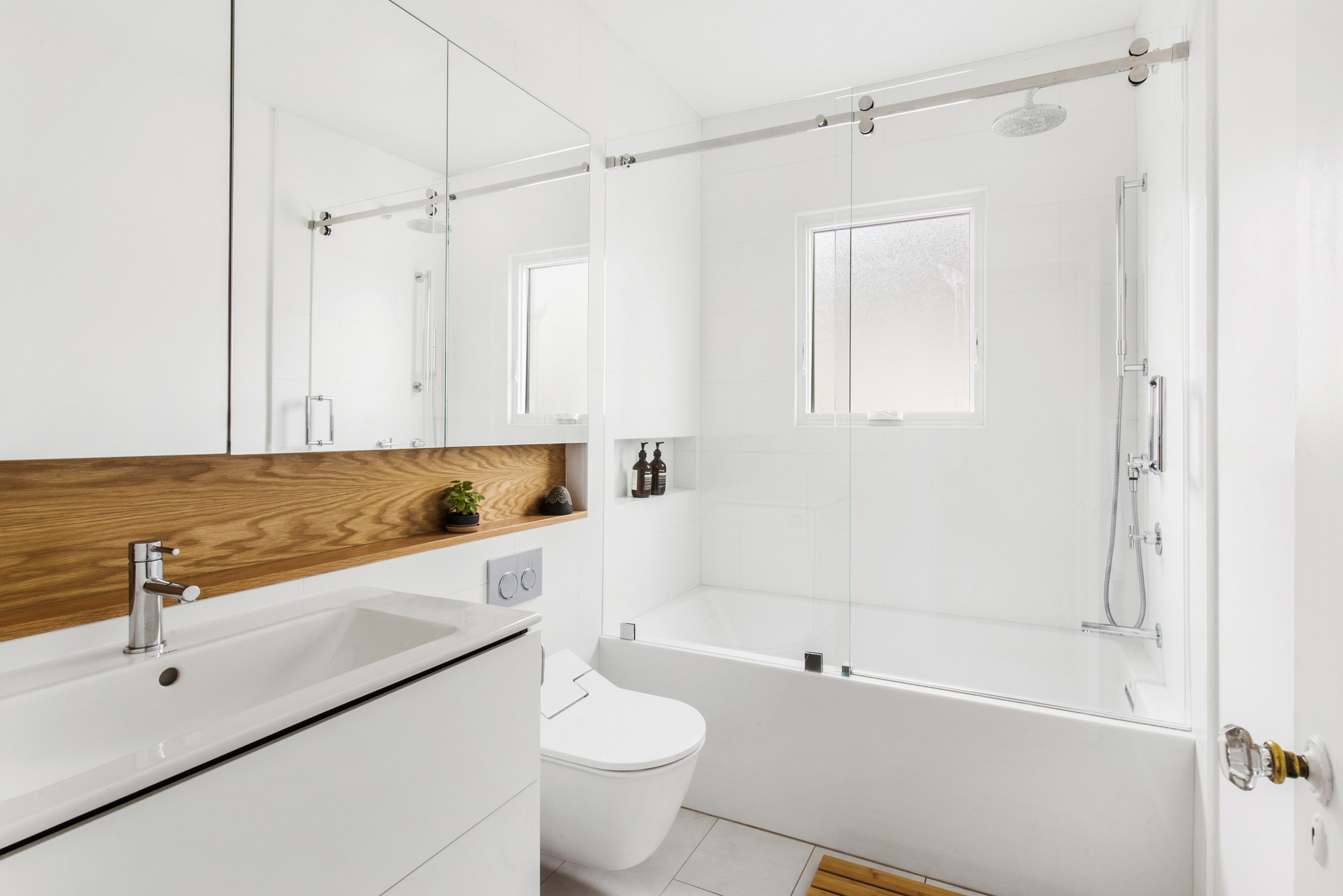 Tub And Shower Combination